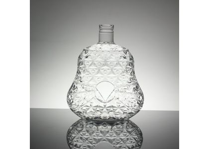 Carving of glass bottle products