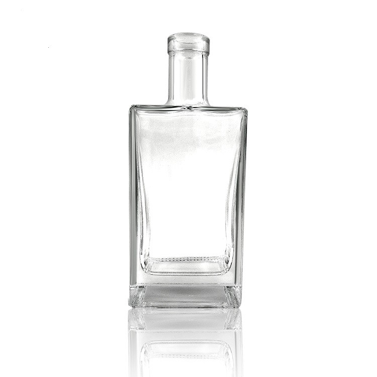 750ml glass bottle for alcohol distillery