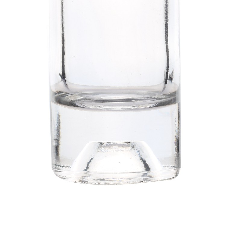 Wholesale empty clear cheapest cylinder 200ml stelvin wine mini vodka bottles
