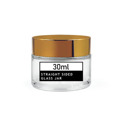 Good Prices 30ml 1oz glass skin care cosmetics jar for face cream, eye cream