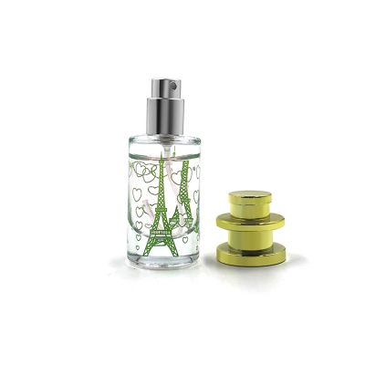 Factory price cosmetic packing pocket perfume bottle 20ml with logo screen printing