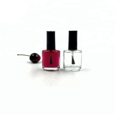 Custom 15ml screw top nail polish remover bottles