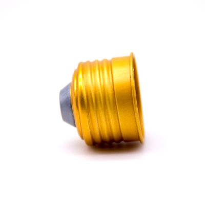 28MM 30MM PP/PE Gold screw cover caps plastic bottle cap
