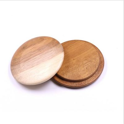 Eco-Friendly wooden lids for glass food storage jars