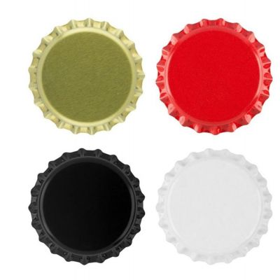 wholesale 26mm beer crown cap metal lid for beer beverage bottle