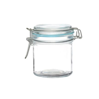 50ml 80ml 100ml 300ml airtight jam sauce canisters caviar sugar storage glass jar
