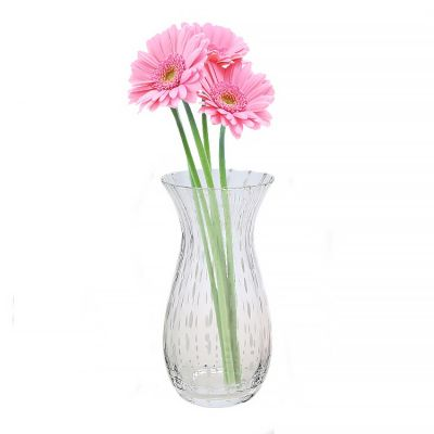 Decorative Modern Glass Hurricane Trumpet Vase