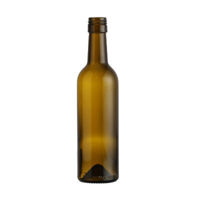 375ml Small Brown Glass Red Wine Bottle With lids