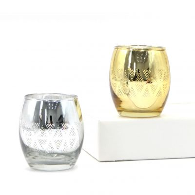 Attractive Bling Candle Holder Tealight Holder Glass Votive