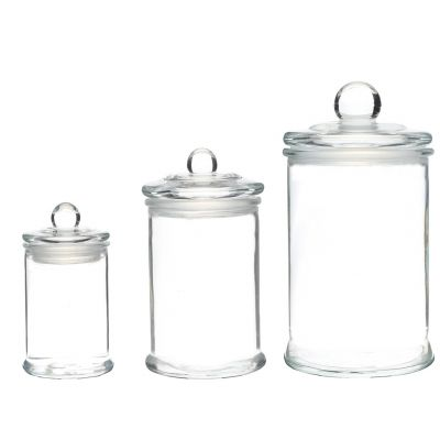 150ml 300ml 750ml food grade ait tight jelly bean lolly glass storage jars food container bottles