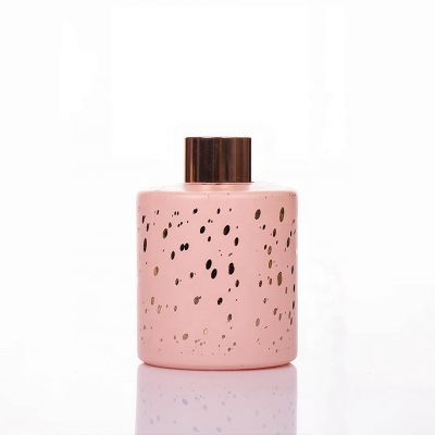 Custom 150ml Perfume Round Fragrance Reed Aroma Glass Diffuser Empty Glass Perfume Diffuser Bottle