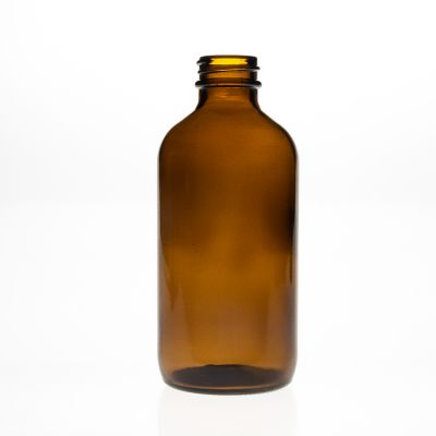 Pharmaceutical Bottles China 250cc Empty Amber Brown Glass Medicine Packaging 8oz Glass Reagent Bottle