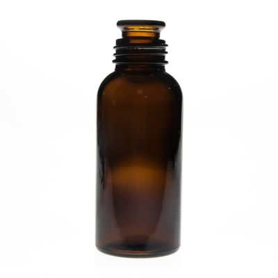 120ml amber color plastic cap wide mouth medicine glass bottle