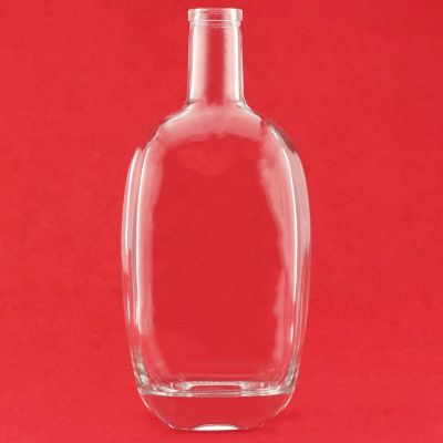 Super Flint Glass Bottle 700 ml Super Flint Tequila Bottle Square