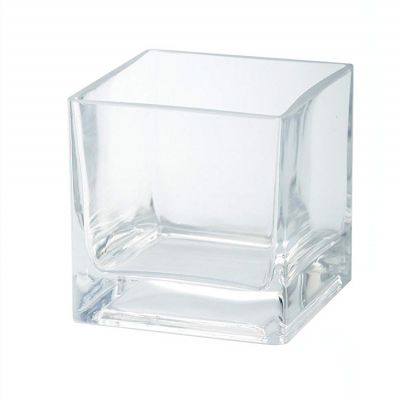Hot Sale Square Glass Candle Jar,Glass Jars For Candles,Glass Candle Holder