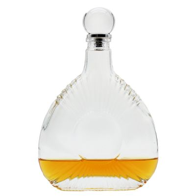 2021 made in china superior quality extra super flint whisky xo brany glass bottle for brany