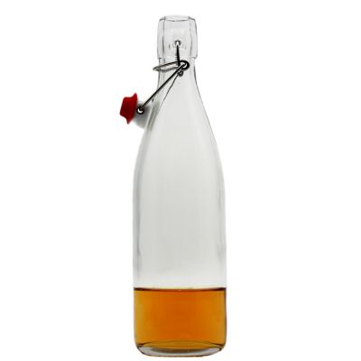 juice beer enzyme bottles milk glass bottle for wholesale 500ml