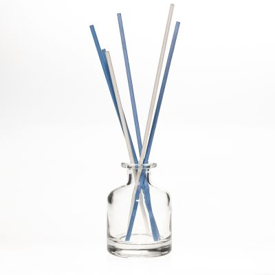 wholesale 50ml 150ml 250ml big belly bottle reed diffuser bottles with cork